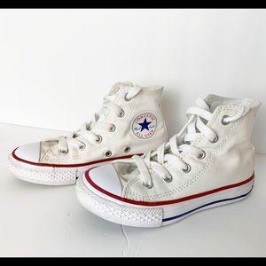 Chuck's AllStar Converse HighTop Sneakers Size 11Y
